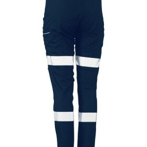 Bisley Womens Taped Stretch Cotton Pants